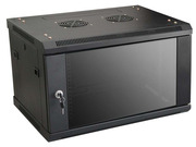 LinkBasic Шкаф настенный 9U,  600*450*500,  цвет чрный