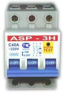 Автоматические выключатели ASP-3H,  ASPauto,  ASPpower,  ASP- V,  ASP- L1,