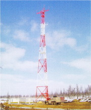 Антенная опора АО,  мачты связи,  башня связи,  молниеотводы