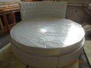 Круглая кровать разных размеров