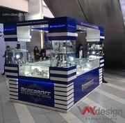Дизайн и изготовление промо-стоек ресепшенов и торгового  оборудования