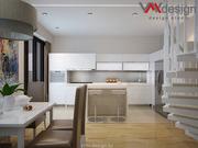 Дизайн интерьера квартиры,  коттеджа,  дизайнерский ремонт