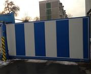 Ворота откатные секционные Ryterna