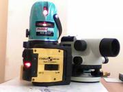 Оптический и лазерный  нивелиры.