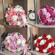 Свадебный букет (Искусственные цветы)