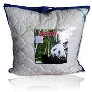 подушка 100% бамбук,  цвет белый