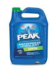 Антифриз PEAK обеспечивают максимальную защиту от замерзания до -64.5°