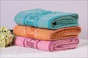 Махровые полотенца КостанайАстана 35х75, 90г, цена:160тг и Урумчи китай