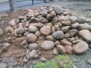 Камень бутовый,  валун речной,  булыжник,  доставка ЗиЛ 6 т. по Алматы.