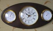 гигрометр,  термометр,  часы