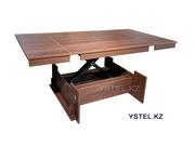 Трансформер.  Стол имеет 5 фиксированных положений высоты.  Доставка п