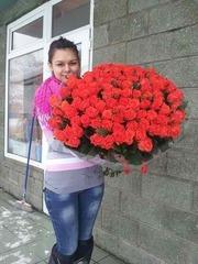 Букет из 101 розы сорт