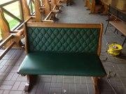 Перетяжка и ремонт мягкой стула, пуфика, , скамейки