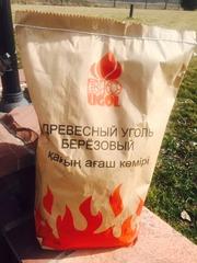 Уголь , березовый для мангала-  5 кг