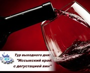 Отдых выходного дня-Иссыкский край,  с дегустацией вин