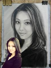Рисованные портреты по фото. Дешево.