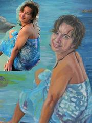 Продам картины,  принимаю заказы на портреты по фото к любому празднику.