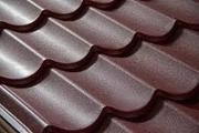Металлочерепица -  цвет шоколад