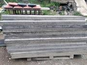 Столбик ограждения бетонный