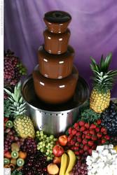 Шоколадный фантан