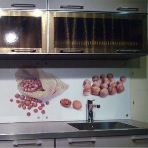 Скинали (стеклянный фартук) для кухни в Алматы