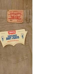 Продам вельветовые джинсы Levis 517  оригинал