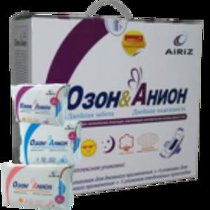 Гигиенические прокладки «ОЗОН и АНИОН» (в коробке 19 упак.)