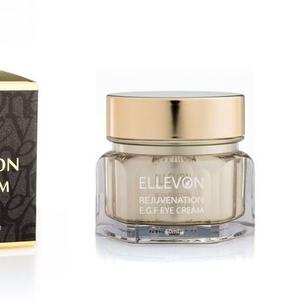 Омолаживающий крем ELLEVON  для кожи вокруг глаз с E.G.F.