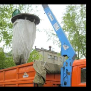 Заглубленные мешки под мусор в Алматы - Тексупак