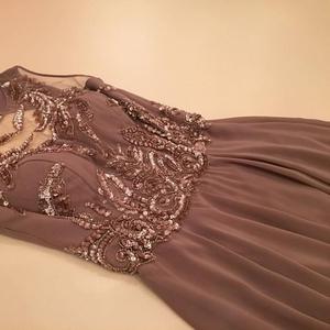Вечернее платье оттенка каппучино в Алматы