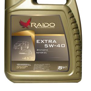Raido Extra 5W-40 Синтетическое универсальное моторное масло