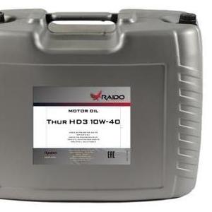 Raido Thur HD3 10W-40 Моторное масло для грузовых автомобилей