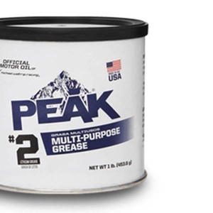 Многоцелевая литиевая смазка PEAK® Multi-Purpose Grease