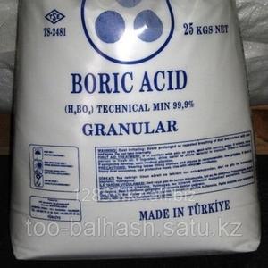 Борная кислота (borax,  boric acid)