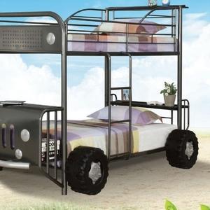Детская двухъярусная кровать-машина (доставка по Казахстану)