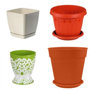 Цветочные горшки и кашпо - керамика и пластик