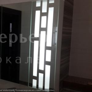 Изготавливаем зеркала с подсветкой