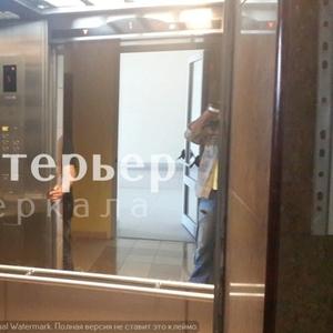 Установка зеркал в лифты