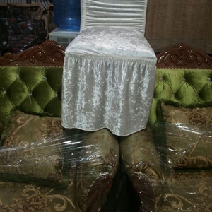Чехол резинка на стулья велюровые