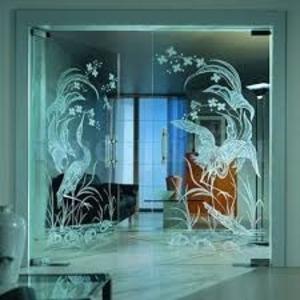Раскрой стекла и зеркала,   обработка,  монтаж
