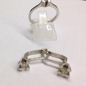 Продам Комплект из белого золото с бриллиантами