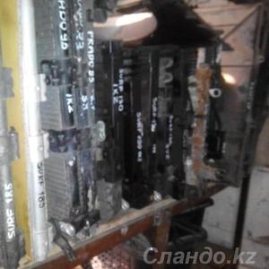 Радиатор печка и моторчик печка Toyota L C Prado , Hilux Surf , 4Runner