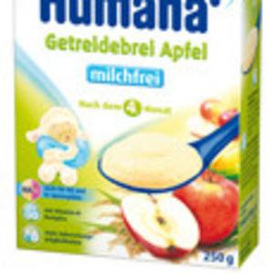 Немецкое детское питание Humana в Казахстане