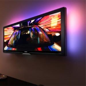 Навеска телевизоров на стену в Алматы.