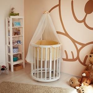 Детская кроватка – трансформер 6 в 1 EllipseBed