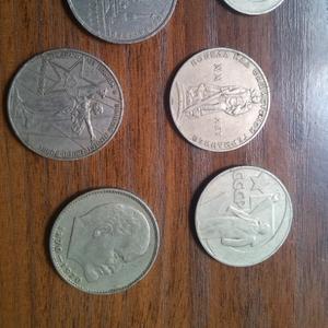 Продам юбилейные,  коллекционные монеты СССР