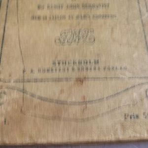 Антикварные книги на Шведском языке.