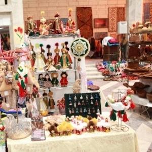 Центрально-Азиатская выставка ремёсел.