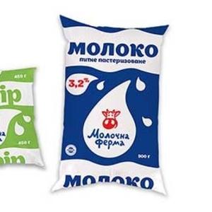Многослойная пленка с печатью для упаковки молока
