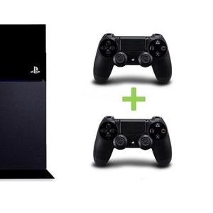 Sony PS4 500GB с 2 контроллерами